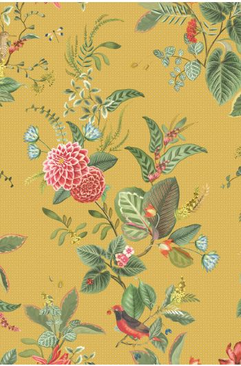 Floris Wallpaper Yellow