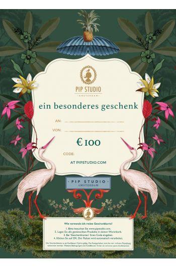 Digitalen Geschenkkarte €100