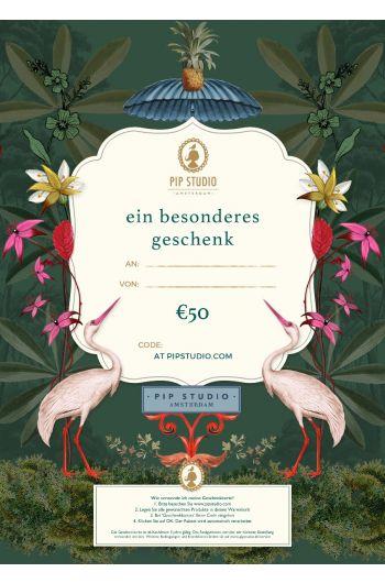 Digitalen Geschenkkarte €50
