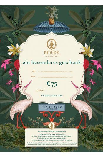 Digitalen Geschenkkarte €75