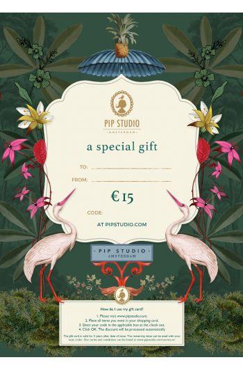 Digitale cadeaukaart €15