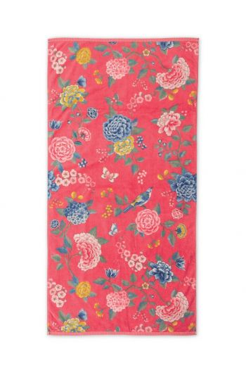 XL Bath towel Good Evening Coral 70x140 cm