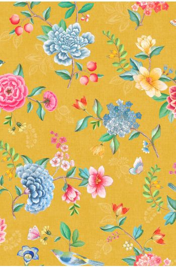 Pip Studio Good Evening Wallpaper Yellow