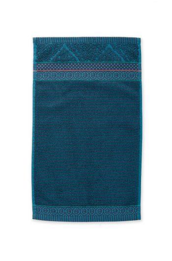 Gästehandtuch-soft-zellige-dunkelblau205579