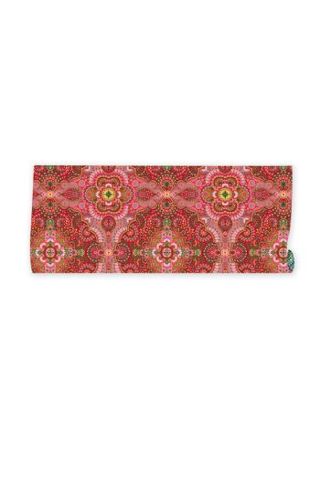 wrapping-paper-2-sheets-moon-delight-with-flower-print-red
