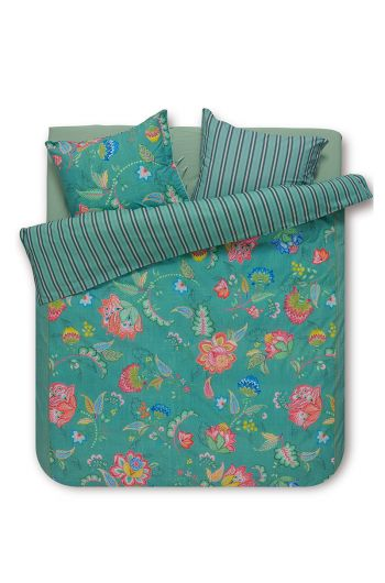 Duvet cover Jambo Flower Green