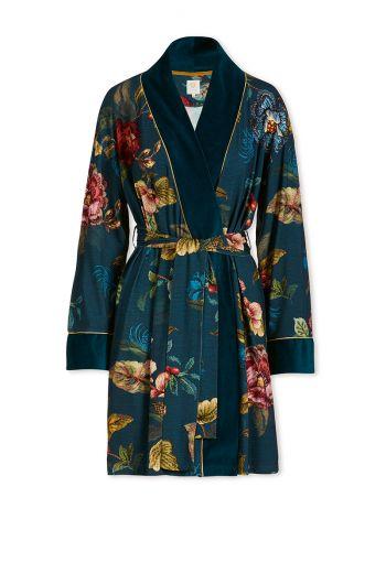 Kimono Poppy Stitch Blue
