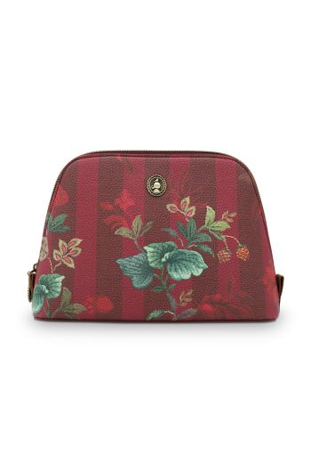 medium-cosmetic-leafy-stitch-in-burgundy-with-stripe-and-flower-design-and-zipper