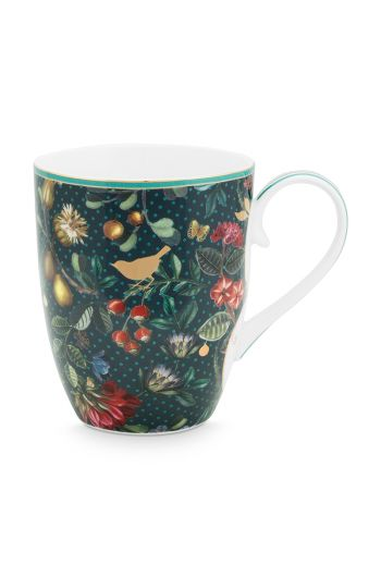 mug-large-winter-wonderland-made-of-porcelain-with-flowers-in-dark-blue
