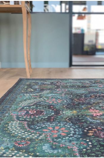 vintage-rectangular-moon-delight-carpets-in-dark-blue-with-flower-details