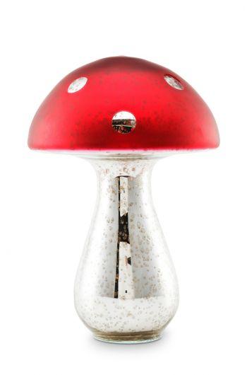 Mushroom Glass 30 cm