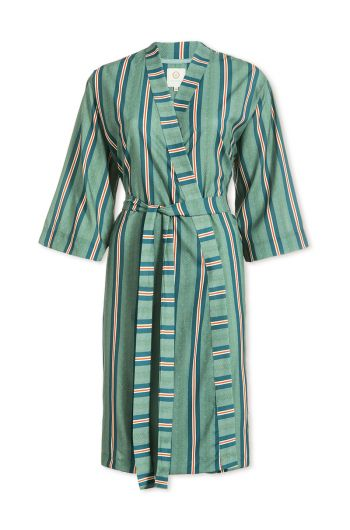 Kimono Blurred Lines Grün