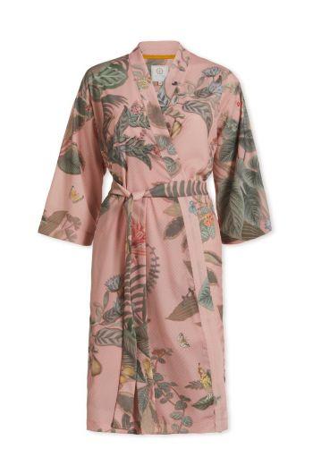 Kimono Floris Grande Roze