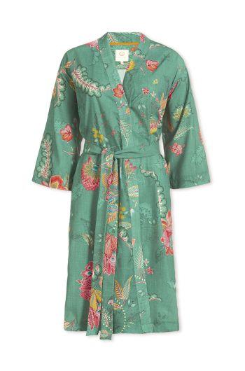 Kimono Jambo Flower Green
