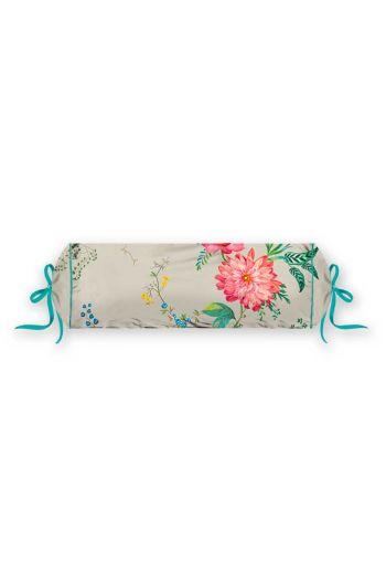 neck-roll-fleur-grandeur-khaki-flowers-pip-studio