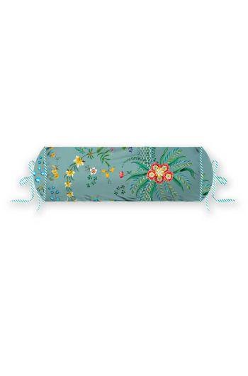 cushion-blue-flowers-neck-roll-cushion-decorative-pillow-petites-fleurs-pip-studio-22x70-cotton
