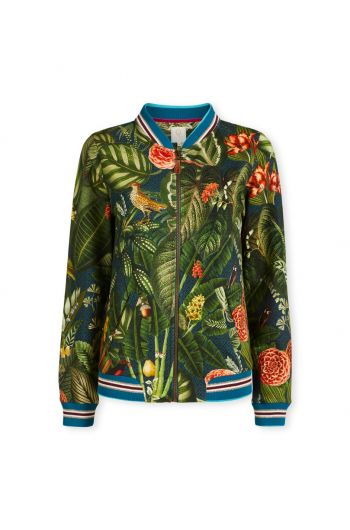 Bomberjacket Forest Foliage Green