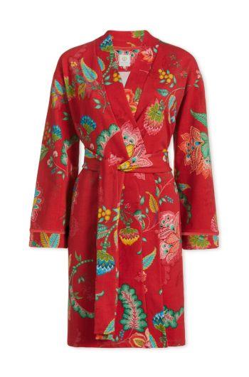 Kimono Jambo Flower Red