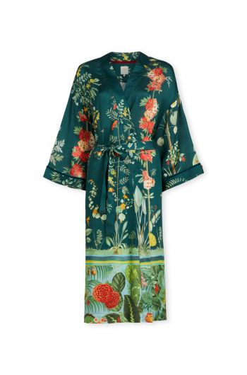 Kimono Babylons Garden Grün