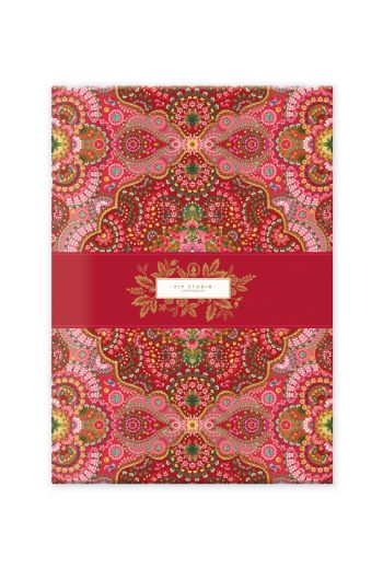 notebook-a4-moon-delight-with-flower-print-red