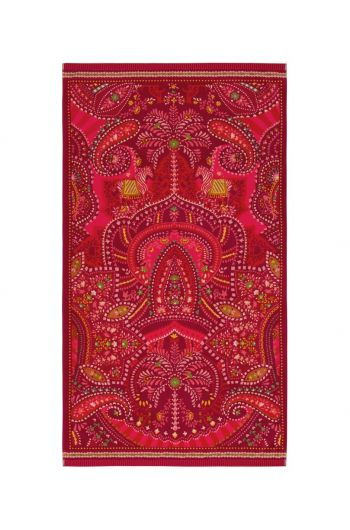 Beach towel Sunrise Red 100x180 cm