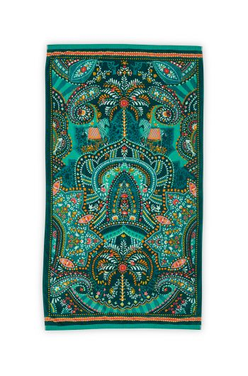 Beach Towel Sunrise Green 100 x 180 cm