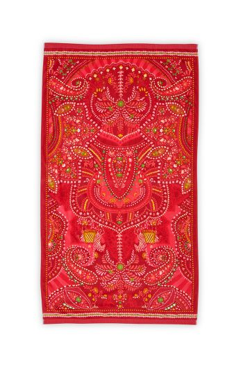 Strandtuch Sunrise Rot 100 x 180 cm