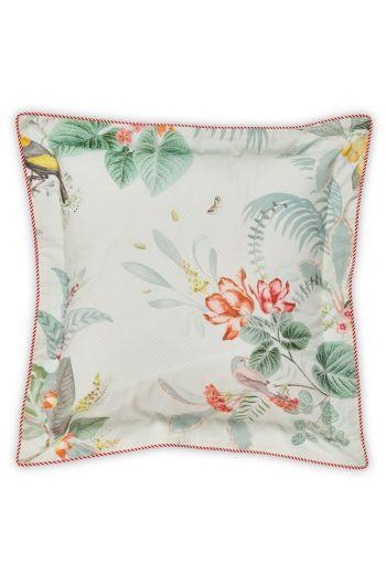 Cushion square Floris White