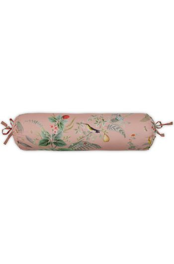 Neck roll Floris Pink