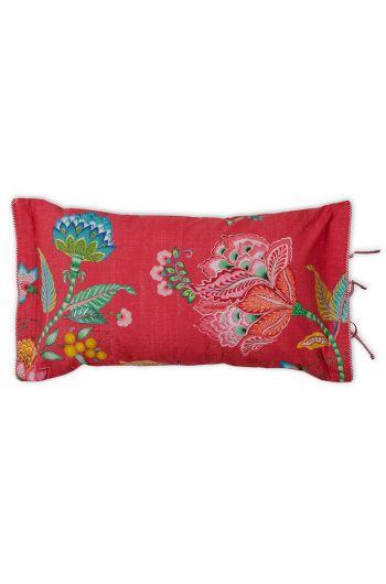 Rechthoekig sierkussen Jambo Flower Rood