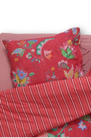 Pillowcase Jambo Flower Red