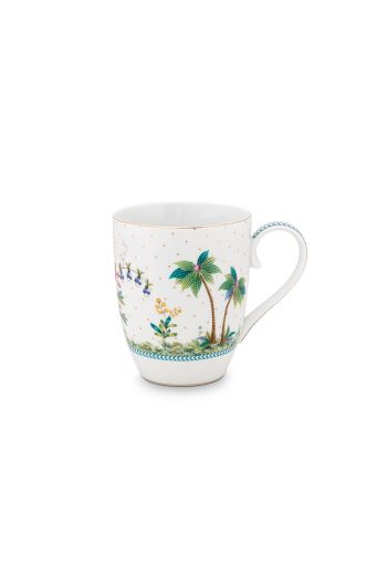 porcelain-mug-large-jolie-dots-gold-350-ml-6/36-palmtrees-pip-studio-51.002.243