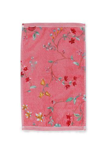 handdoek-les-fleurs-roze-30x50-pip-studio-217817