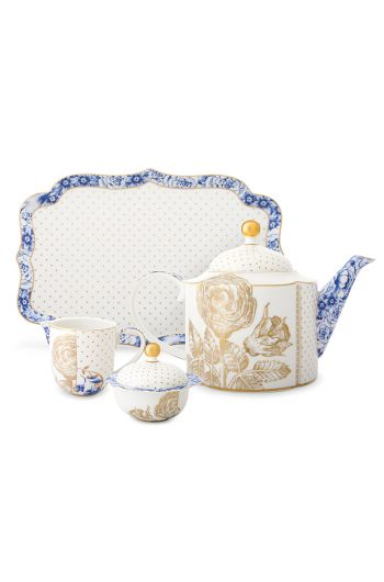 royal-tea-set-of-4-white-pip-studio-51020118