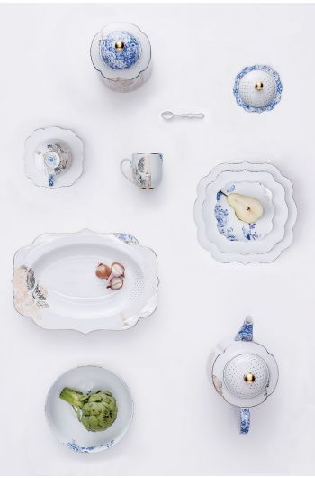 DE ROYAL WHITE PORSELEIN COLLECTIE