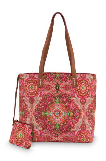 Shopper Medium Moon Delight Rood