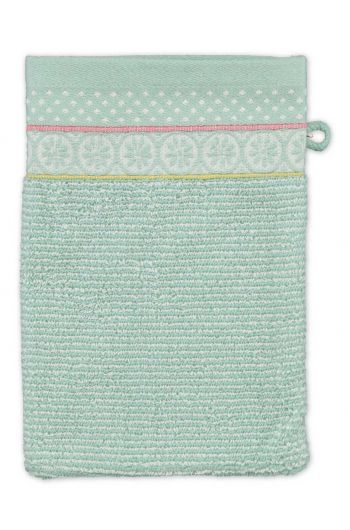 Wash cloth Soft Zellige Blue 16x22 cm