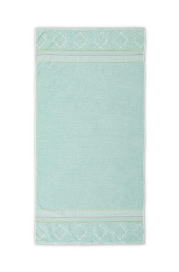 Duschlaken Soft Zellige Blau 70x140 cm