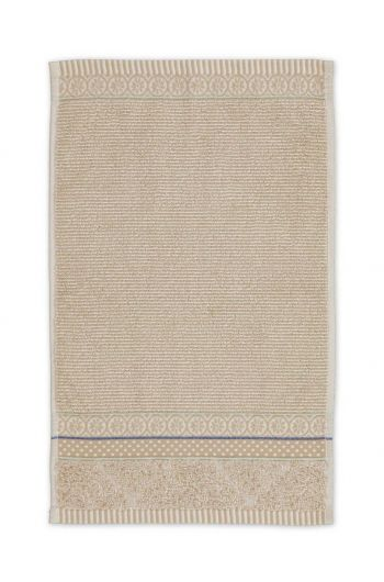 Gastendoek Soft Zellige Khaki 30x50 cm