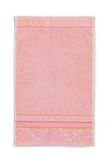 Gastendoek Soft Zellige Roze 30x50 cm
