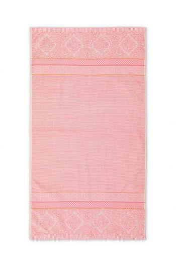 Bath towel Soft Zellige Pink 55x100 cm