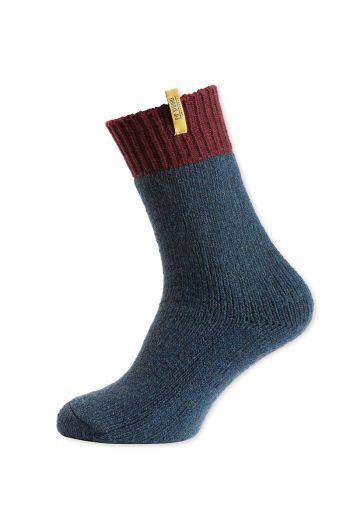 sokken-burgundy-en-blauw-van-wol