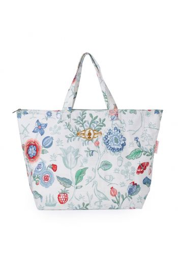 Beach Bag Spring to Life Petit Star White