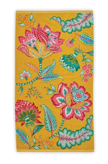 Beach Towel Jambo Yellow 100 x 180 cm