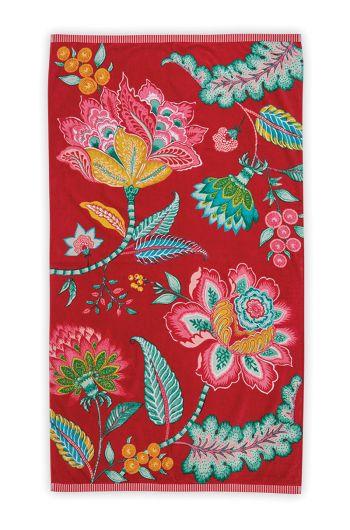 Beach Towel Jambo Red 100 x 180 cm