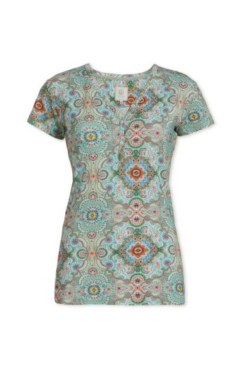 Top short sleeve Moon Delight Green