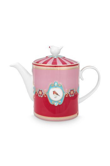tea-pot-love-birds-medium-in-red-and-pink-with-bird