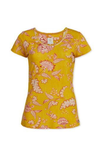 Top short sleeve Jambo Yellow