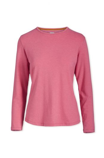 Top Long Sleeve Pink Melee