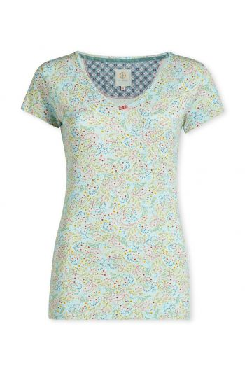 Top short sleeve Beldi Blue